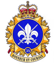 35 Canadian Brigade Group Badge