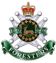 Insigne du Grey & Simcoe Foresters