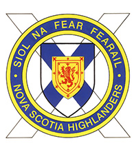 The Nova Scotia Highlanders (North) Badge