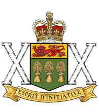 The Saskatchewan Dragoons Badge