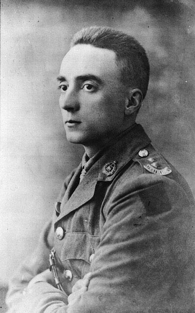 Lieutenant Gordon Muriel Flowerdew was awarded a posthumous Victoria Cross for leading fellow members of Lord Strathcona's Horse (Royal Canadians) in a charge against a German offensive at Moreuil Wood on March 30, 1918 in France during the First World War.